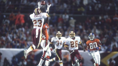 2. Super Bowl XXII: Washington Redskins (+3) over Denver Broncos, 42-10