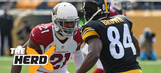 Antonio Brown: Patrick Peterson is the best cornerback in the NFL – 'The Herd'