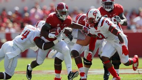 Damien Harris, RB, Soph. (Alabama)