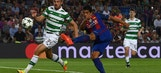 Luis Suarez crushes stunning volley against Celtic | 2016-17 UEFA Champions League Highlights