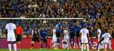 Riyad Mahrez free kick doubles Leicester's lead | 2016-17 UEFA Champions League Highlights