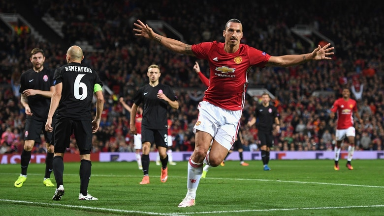Ibrahimovic gives Manchester United the lead |  2016–17 UEFA Europa League Highlights