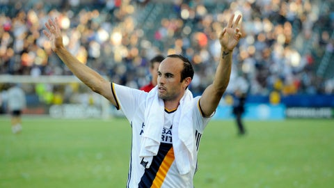 LA Galaxy: Clinched, aiming for top knockout seed
