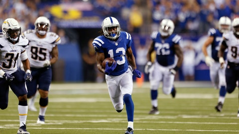 T.Y. Hilton receiving yards over 79.5