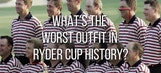 Here is the ugliest team shirt in Ryder Cup history