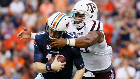 DL: Myles Garrett, Texas A&M