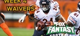 Week 4 Fantasy Football Top Waiver Wire Targets