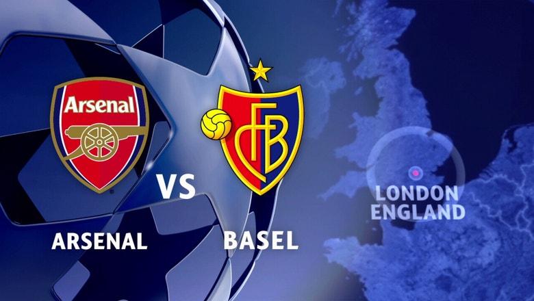 Arsenal vs. FC Basel | 2016-17 UEFA Champions League Highlights