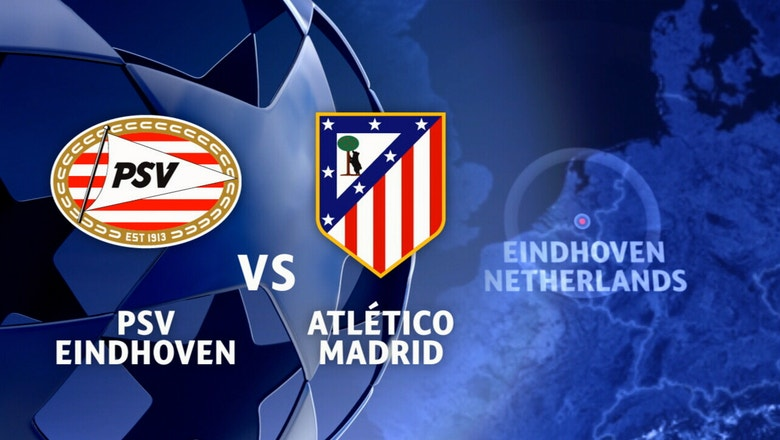 PSV Eindhoven vs. Atletico Madrid | 2016-17 UEFA Champions League Highlights