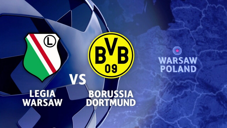 Legia Warsaw vs. Borussia Dortmund | 2016-17 UEFA Champions League Highlights