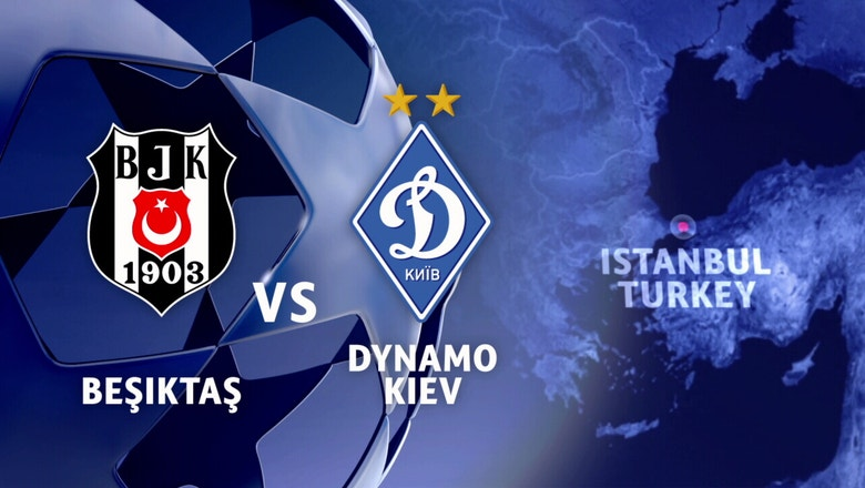 Besiktas vs. Dynamo Kiev | 2016-17 UEFA Champions League Highlights
