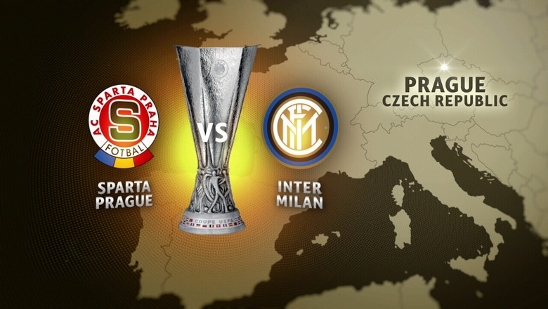 Sparta Prague vs. Inter Milan |  2016–17 UEFA Europa League Highlights