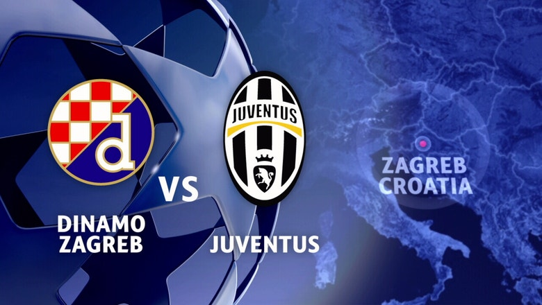 Dinamo Zagreb vs. Juventus | 2016-17 UEFA Champions League Highlights