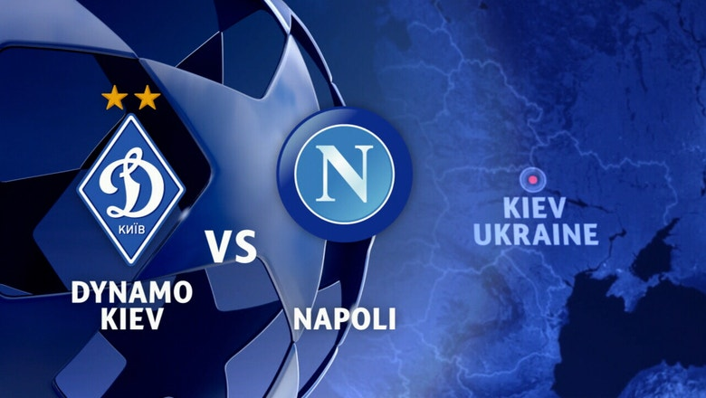 Dynamo Kiev vs. Napoli | 2016-17 UEFA Champions League Highlights