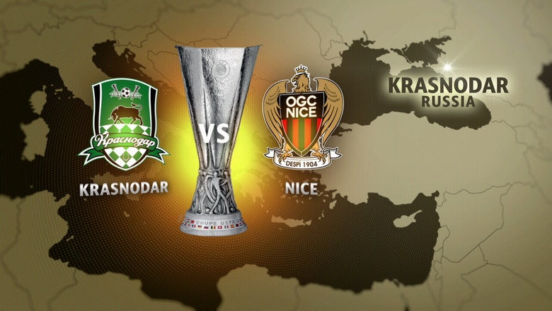 FC Krasnodar vs. Nice |  2016–17 UEFA Europa League Highlights