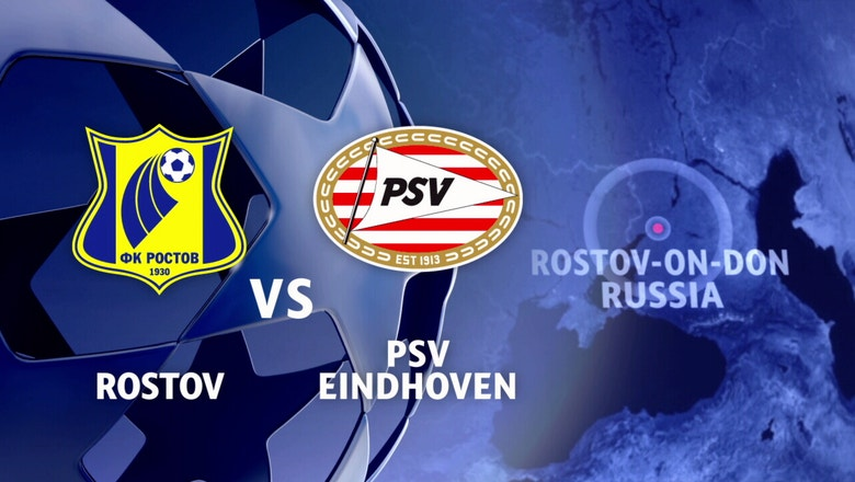 FC Rostov vs. PSV Eindhoven | 2016-17 UEFA Champions League Highlights