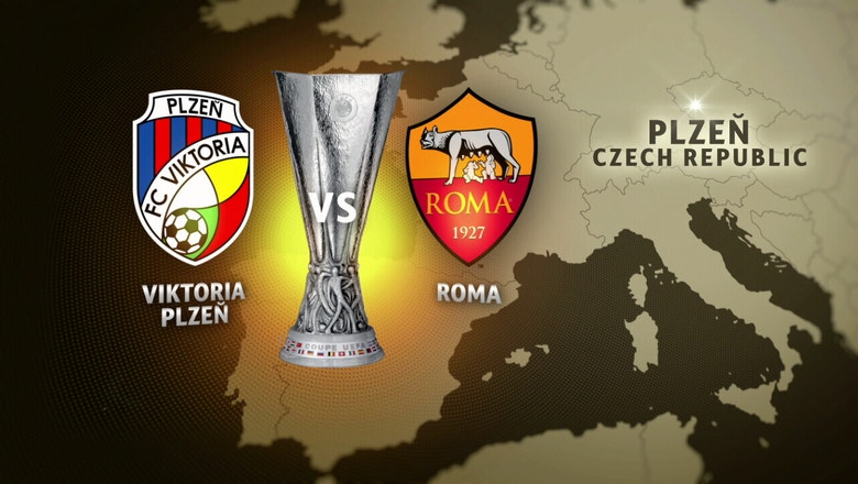 Viktoria Plzen vs. Roma | 2016-17 UEFA Europa League Highlights
