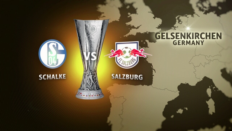 FC Schalke 04 vs. Red Bull Salzburg |  2016–17 UEFA Europa League Highlights