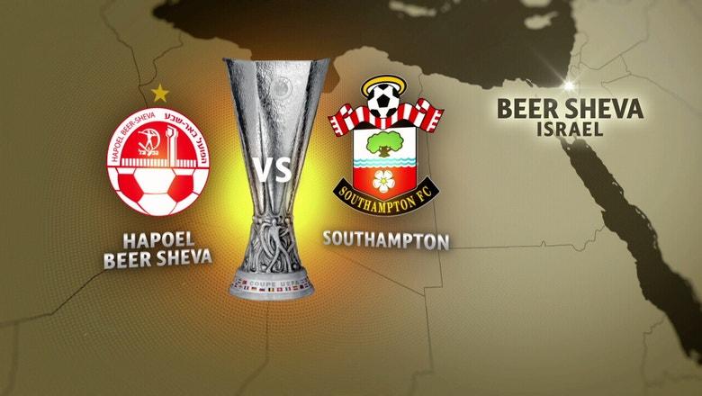 Hapoel Be'er Sheva vs. Southampton | 2016–17 UEFA Europa League Highlights
