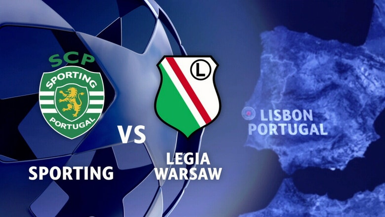 Sporting CP vs. Legia Warsaw | 2016-17 UEFA Champions League Highlights