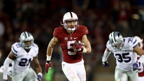 All-purpose: Christian McCaffrey, Stanford