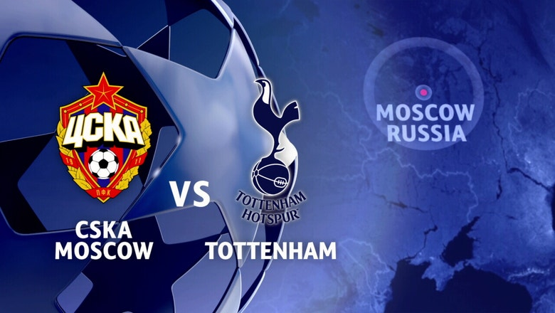 CSKA Moscow vs. Tottenham Hotspur | 2016-17 UEFA Champions League Highlights