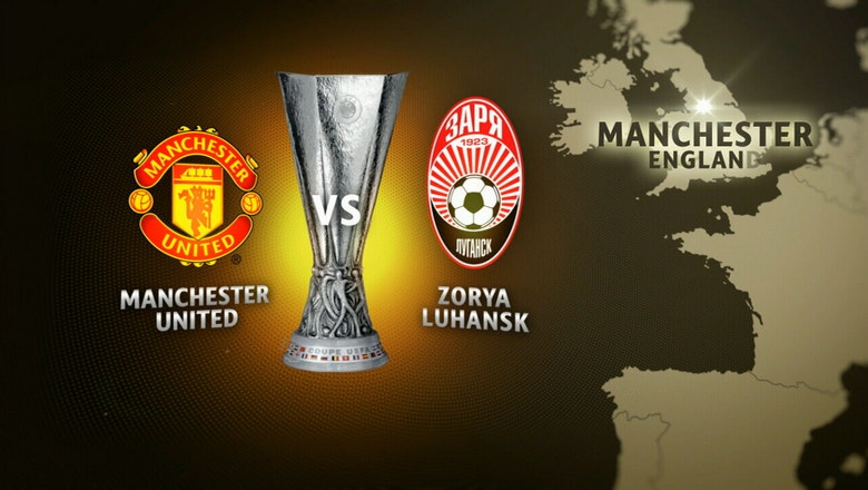 Manchester United vs. Zorya Luhansk | 2016–17 UEFA Europa League Highlights