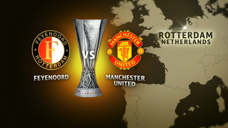 Feyenoord vs. Manchester United | 2016-17 UEFA Europa League Highlights
