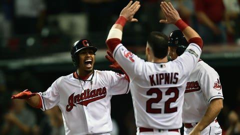 Tribe's 3-home run third