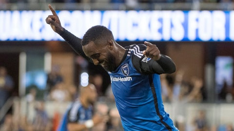 San Jose Earthquakes vs. Vancouver Whitecaps – 5 p.m. ET
