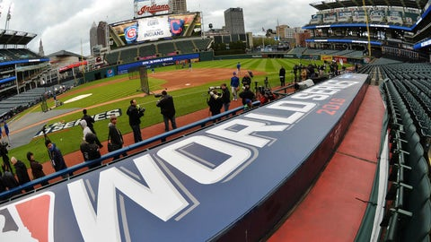 The World Series is finally here.