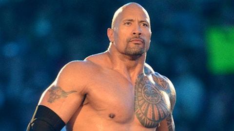The Rock, WWE