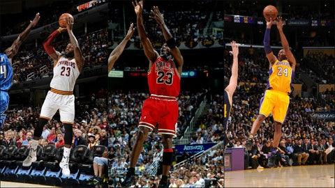 Can anyone topple Michael Jordan?