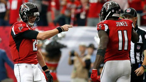 Julio Jones can't be covered by Green Bay's cornerbacks