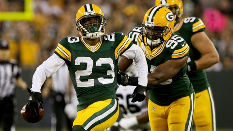 Green Bay doesn't force turnovers