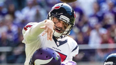Brock Osweiler has been bad against mediocre defenses