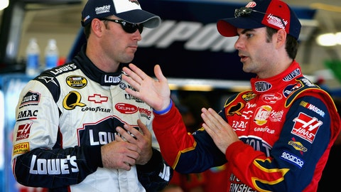 Jeff Gordon finds a star