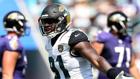 DE: Yannick Ngakoue, Jacksonville Jaguars: 6-2, 246 pounds