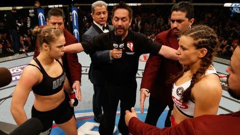 Fetishizing Ronda and Miesha