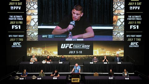 Skipping UFC 200 press conference