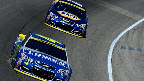 Hendrick cars are fast