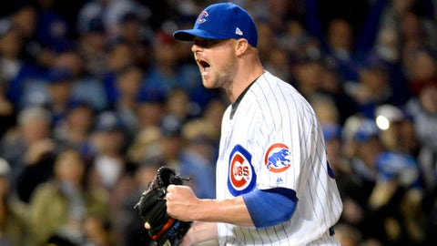 The Cubs have a far better rotation