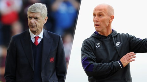 Saturday: Arsenal vs. Swansea City