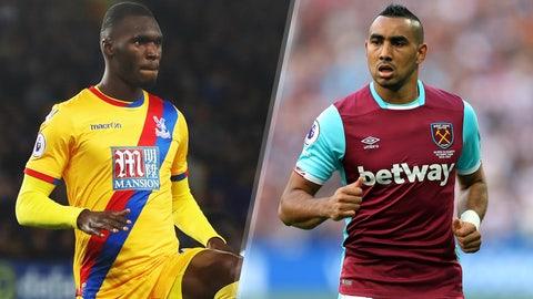 Saturday: Crystal Palace vs. West Ham