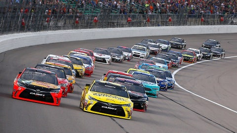 Chase drivers with wins at Kansas Speedway