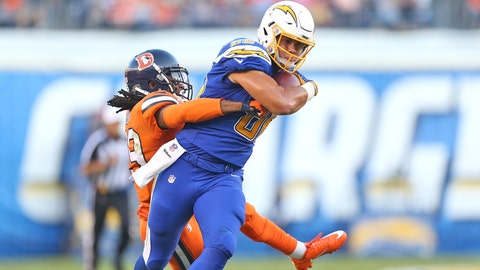 Hunter Henry, TE, Chargers (NA last week)