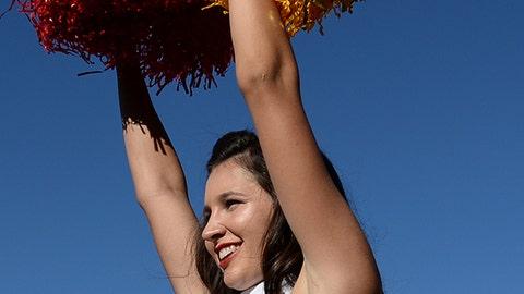 USC cheerleader