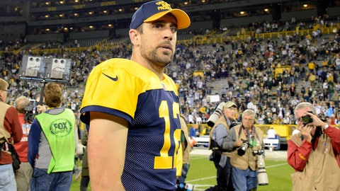 In which we wonder why Aaron Rodgers isn't very Rodgers-like