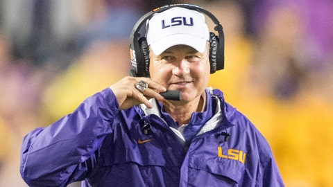 Les Miles, LSU (fired) ($4,385,567)
