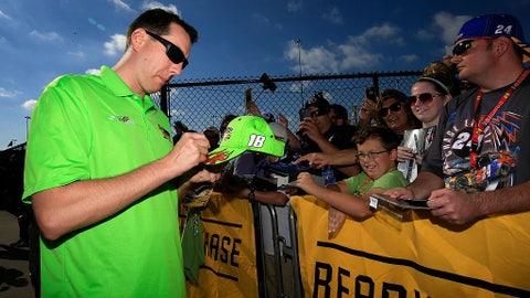 Autographs for a No. 18 fan